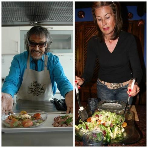 Lluis LLongueras y Natalia Fenarolli
