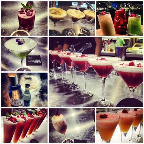 Algunos cocktails